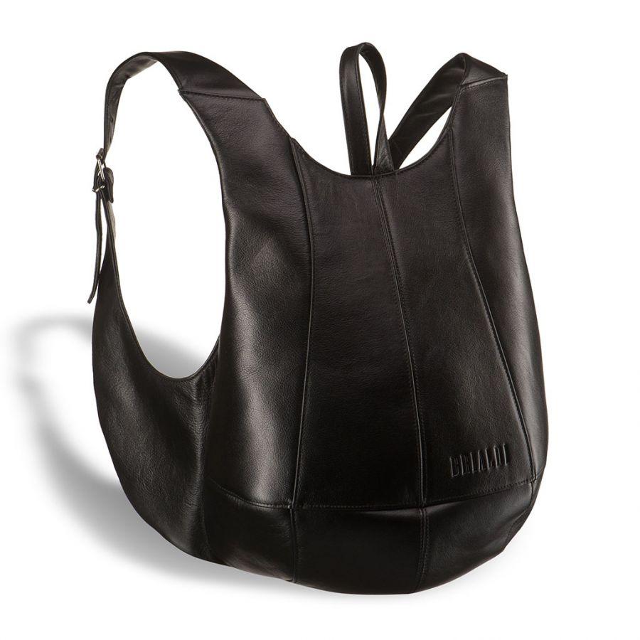 Кожаный рюкзак Brialdi Scorpion (Скорпион) black