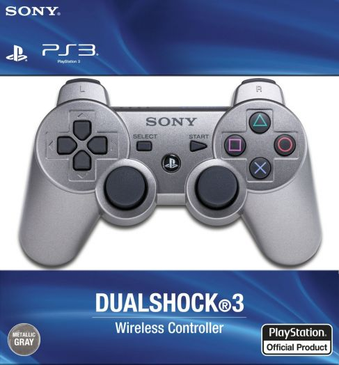 Геймпад PS3 б/п игровой Silver (серебро)