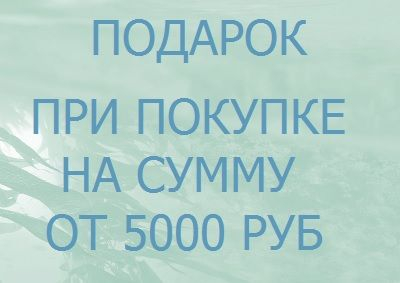 ПОДАРОК  ПРИ ПОКУПКЕ от 5000 руб.