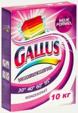 Gallus Универсальный стиральный порошок Gallus 10 кг