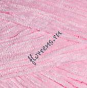 Пряжа Velour / 854 нежно-розовый