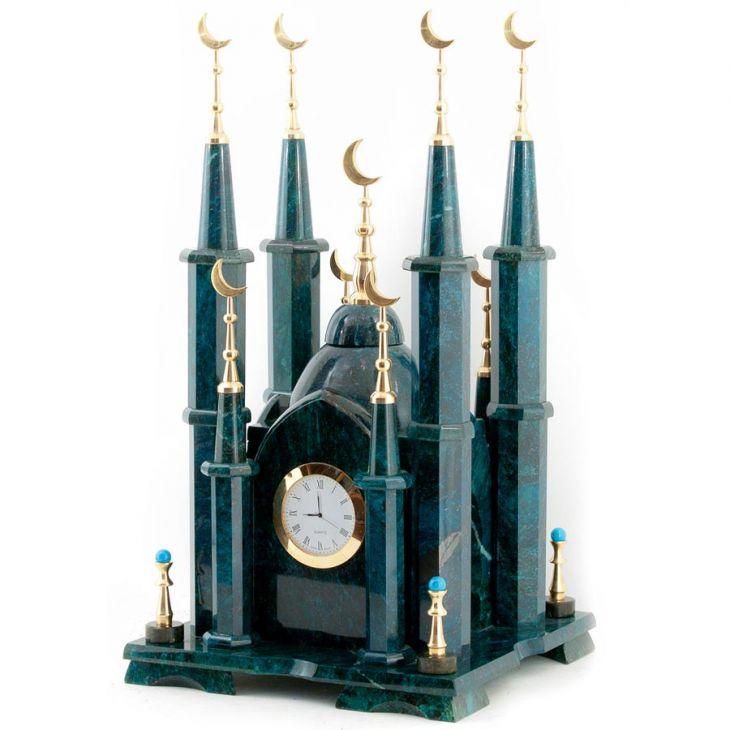 Часы Мечеть малая змеевик