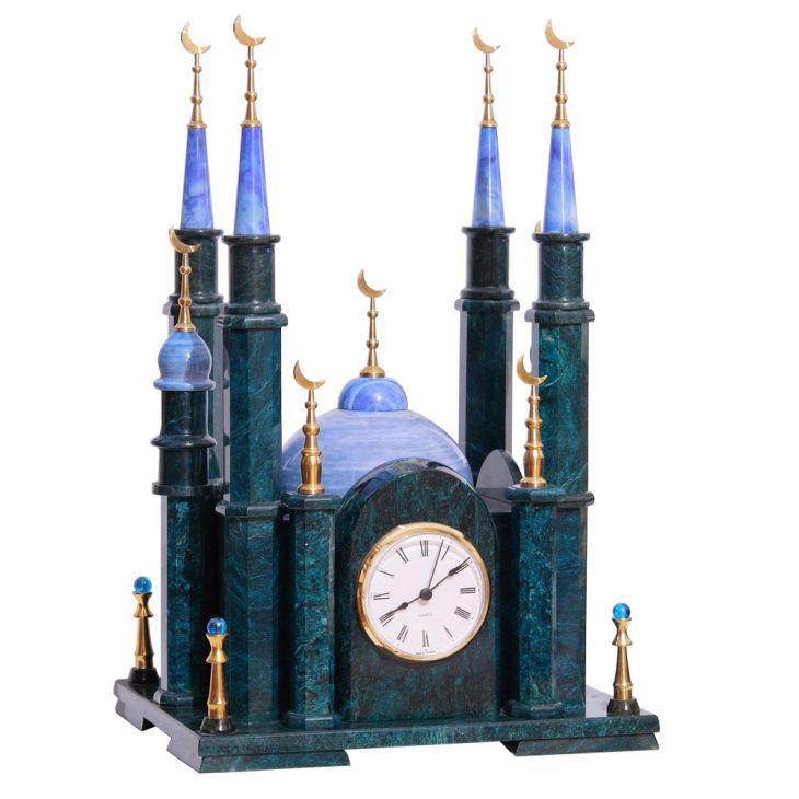 Часы Мечеть большая змеевик
