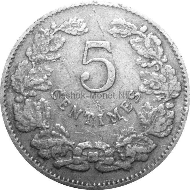 Люксембург 5 сентим 1901 г.