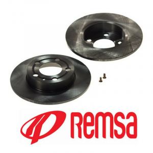 Диск тормозной задний (REMSA) Volkswagen Polo Sedan