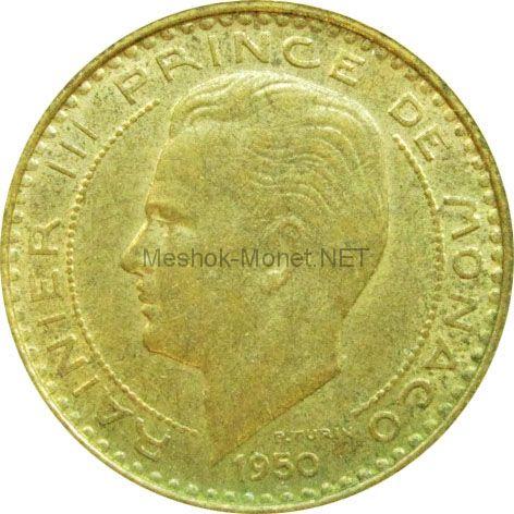 Монако 10 франков 1950 г.