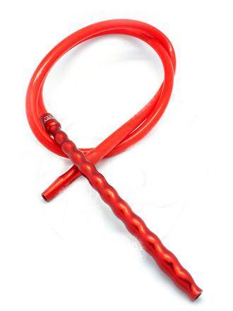 Шланг для кальяна Amy Deluxe силиконовый красный 180см
