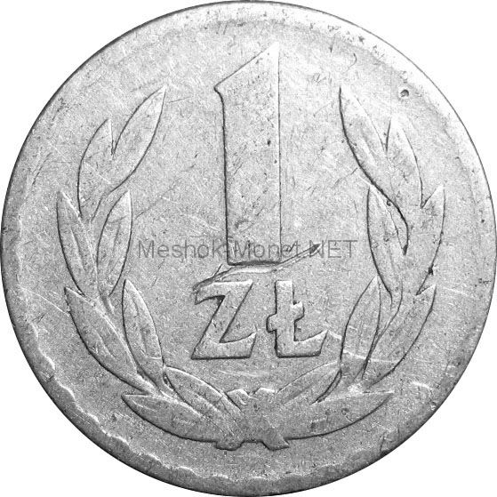 Польша 1 злотый 1949 г.