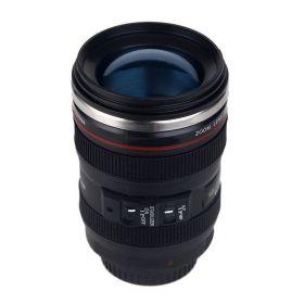 Кружка объектив Canon черная с линзой