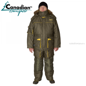 Костюм зимний Canadian Camper Siberia Olive -40/45C