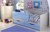 Детская кровать Дельфин МДФ 1,4 м