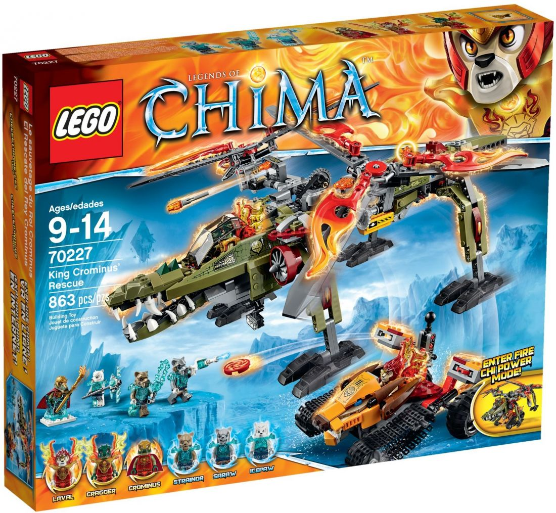 LEGO CHIMA: Спасение короля Кроминуса 70227