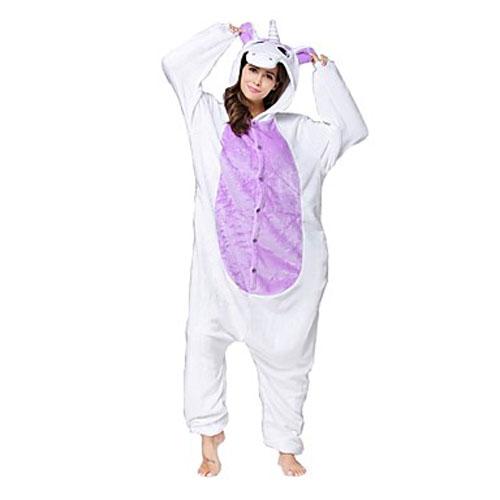 Пижама Кигуруми Единорог Фиолетовый_01