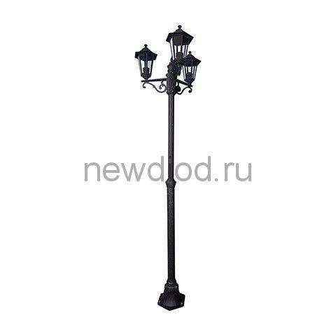 Садово-Парковый Светильник HL270P 3х60Вт E27 220-240V Черный