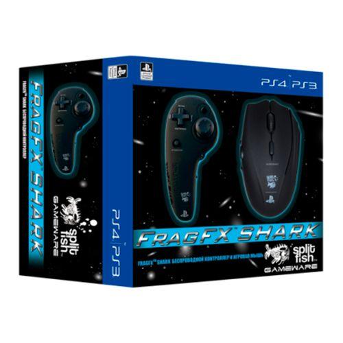 SplitFish Gameware FragFX Shark Беспроводной контроллер и игровая мышь (PS4, PS3)