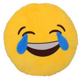 """Подушка Emoji """"LOL Emoji"""" Эмоджи """"До слез"""" 35 см"""