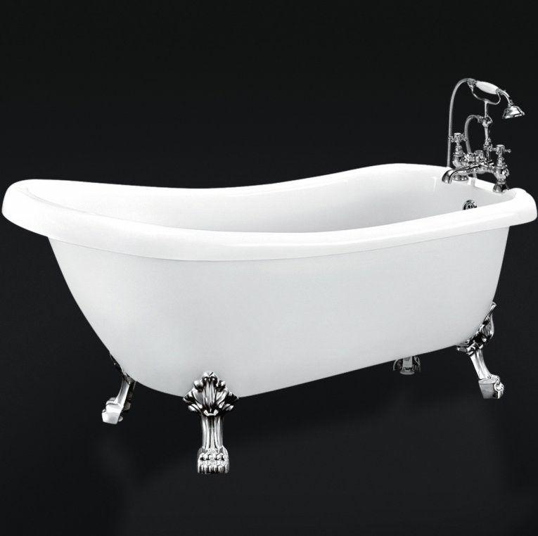 Ванна с лапками отдельностоящая Belbagno BB20 168x72 ФОТО