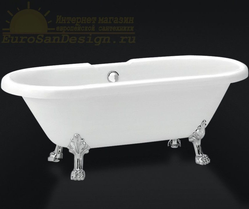 Ванна на лапках Belbagno BB21 177x80 ФОТО