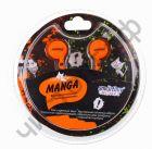 Наушники SmartBuy® MANGA, оранжевые (SBE-1040)  вакуум. текстильный шнур