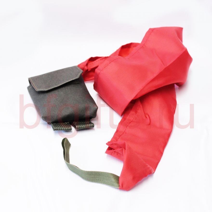 Подсумок с красной тканью, fg