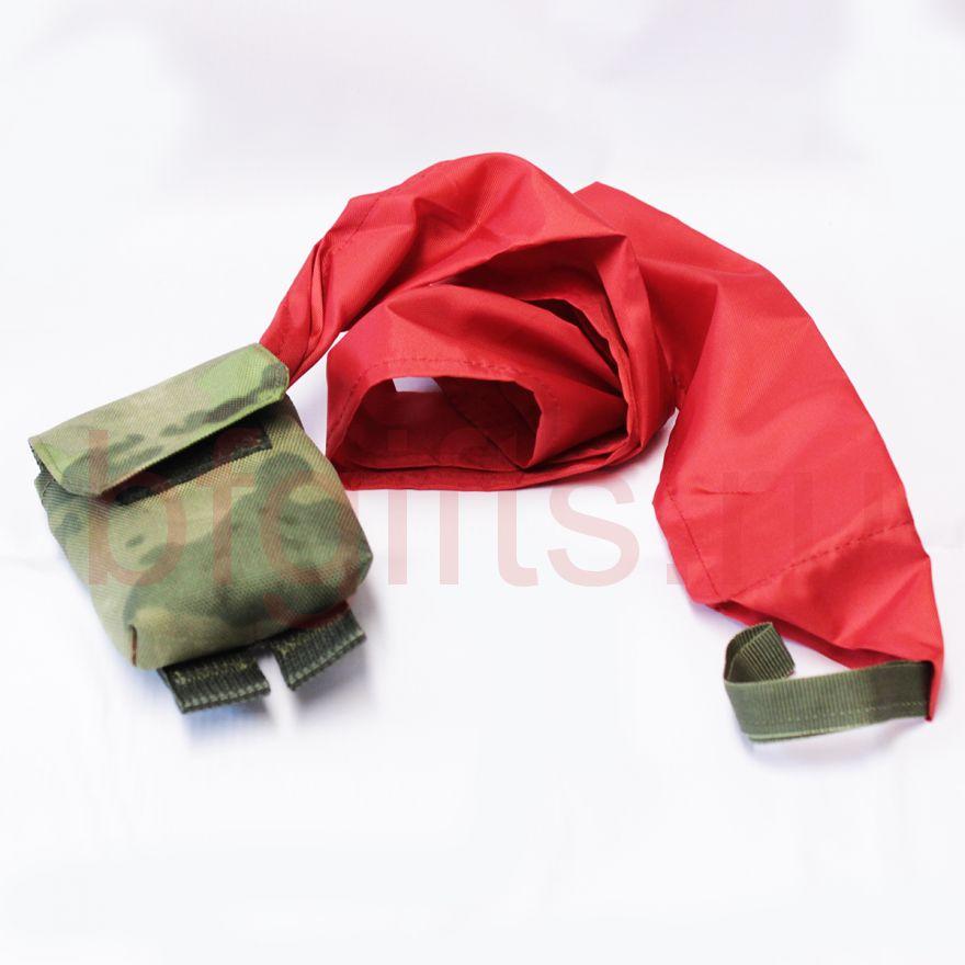 Подсумок с красной тканью, a-tacs fg