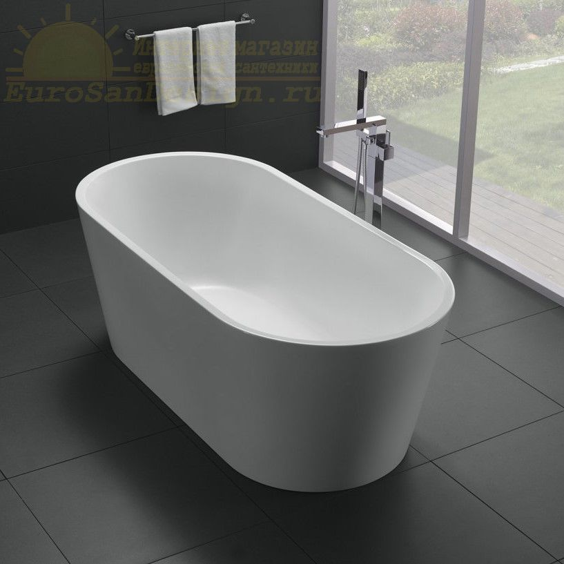 Ванна Belbagno BB71 отдельностоящий монтаж 150x75 ФОТО