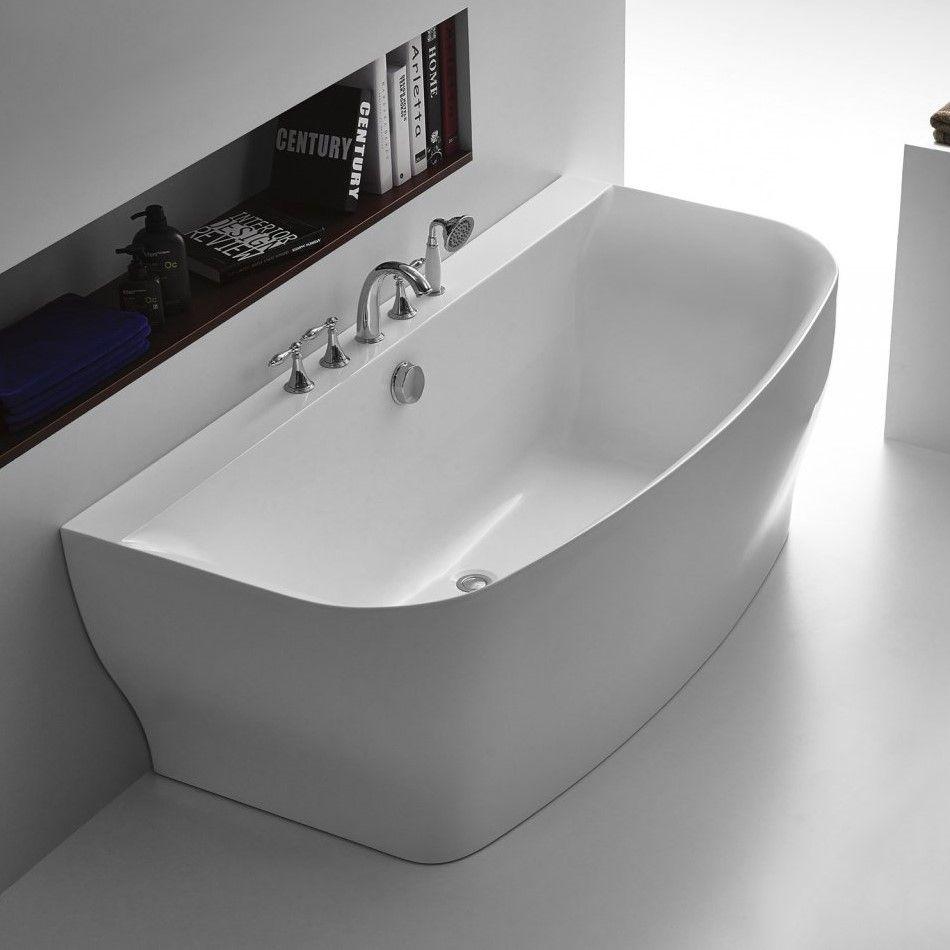 Ванна Belbagno BB74 для свободного монтажа на пол 165x78 см ФОТО