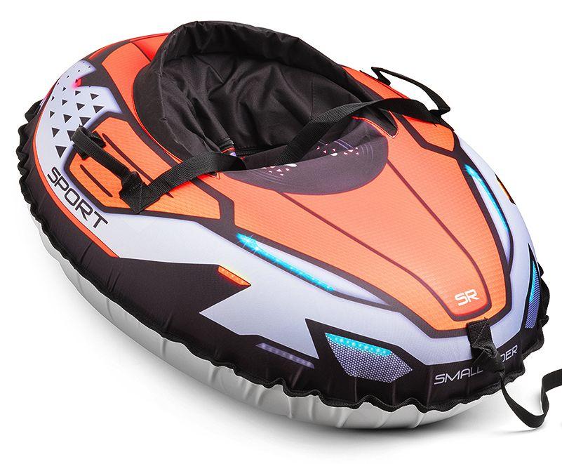 Надувные санки-тюбинг с сиденьем и ремнями Small Rider Asteroid Sport