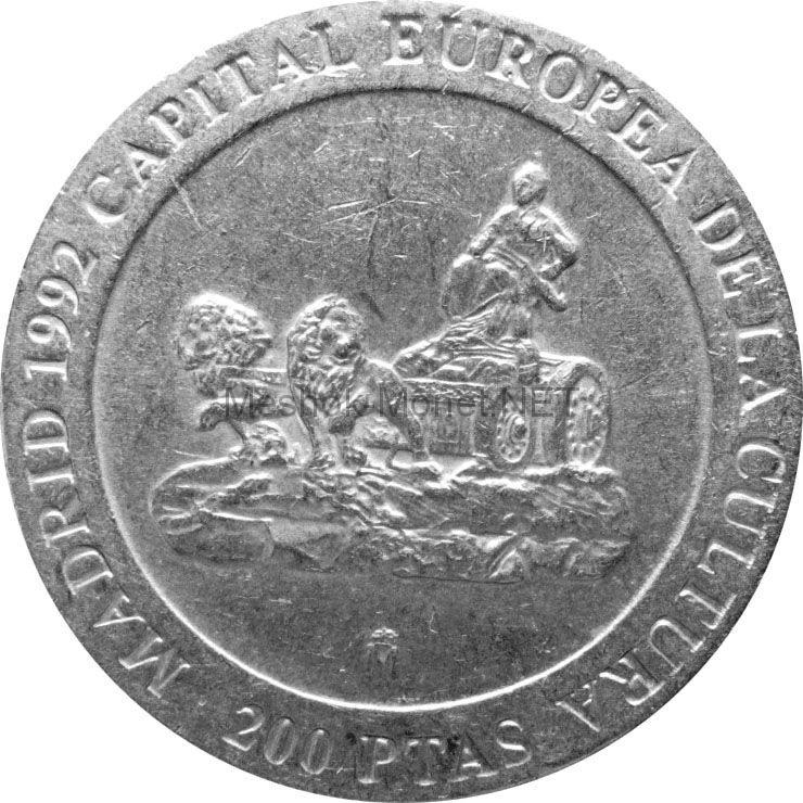 Испания 200 песет 1991 г.