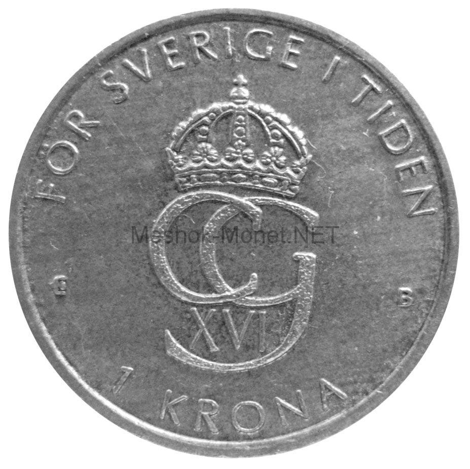 Швеция 1 крона 2000 г.