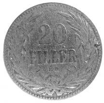 Венгрия 20 филлеров 1893 г.