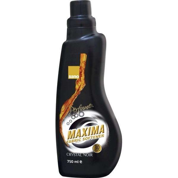 Гигиенический смягчитель для белья с парфюмированными микрокапсулами Кристал Maxima Fabric Softner Perfume Crystal Sano 750 мл