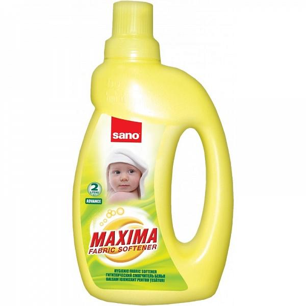 Гигиенический смягчитель для белья Адванс Maxima Fabric Softener Advance Sano 2000 мл