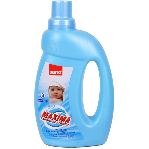 Гигиенический смягчитель для белья Ультра Фреш Maxima Softener Ultra Fresh Sano 2000 мл