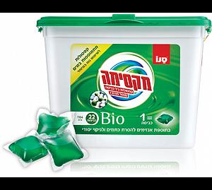 Суперконцентрированный гель для стирки белья в капсулах Maxima Laundry Gel Super Concentrated Bio Capsule Sano 22 шт
