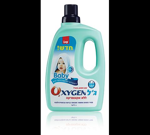 Пятновыводитель для детского белья Oxygen Gel Baby Sano 3000 мл