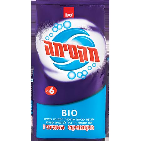 Стиральный порошок концентрат Био Без фосфата Maxima Bio Color Sano 6000 г