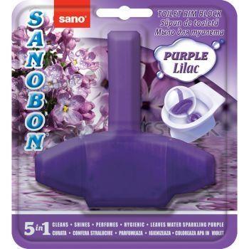 Подвеска для унитаза Сирень Bon Rim Block Purple Lilac Sano 55 г