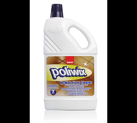 Средство для мытья полов от скольжения 33 применения Poliwix Ceramic Sano 2000 мл