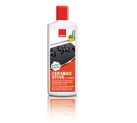 Чистящий крем для стеклокерамических поверхностей Ceramic Tops Cream Cleaner Sano 300 мл