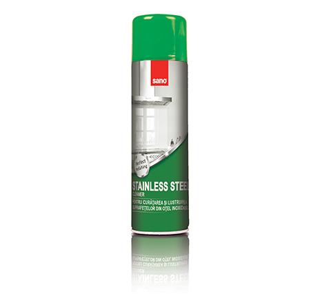 Средство для чистки поверхностей из нержавейки Stainless Steel Sano 500 мл