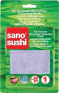 Тряпочки для пыли из микро-волокна  Sushi Microfiber Dusting Cloth Sano 1 шт