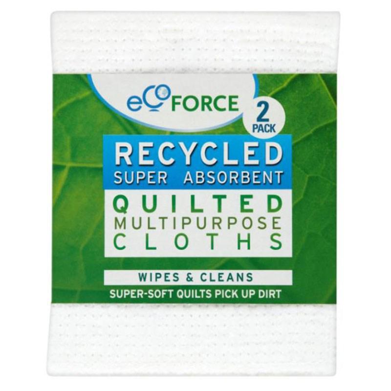 Супер впитывающие салфетки EcoForce (ЭкоФорс) 2 шт