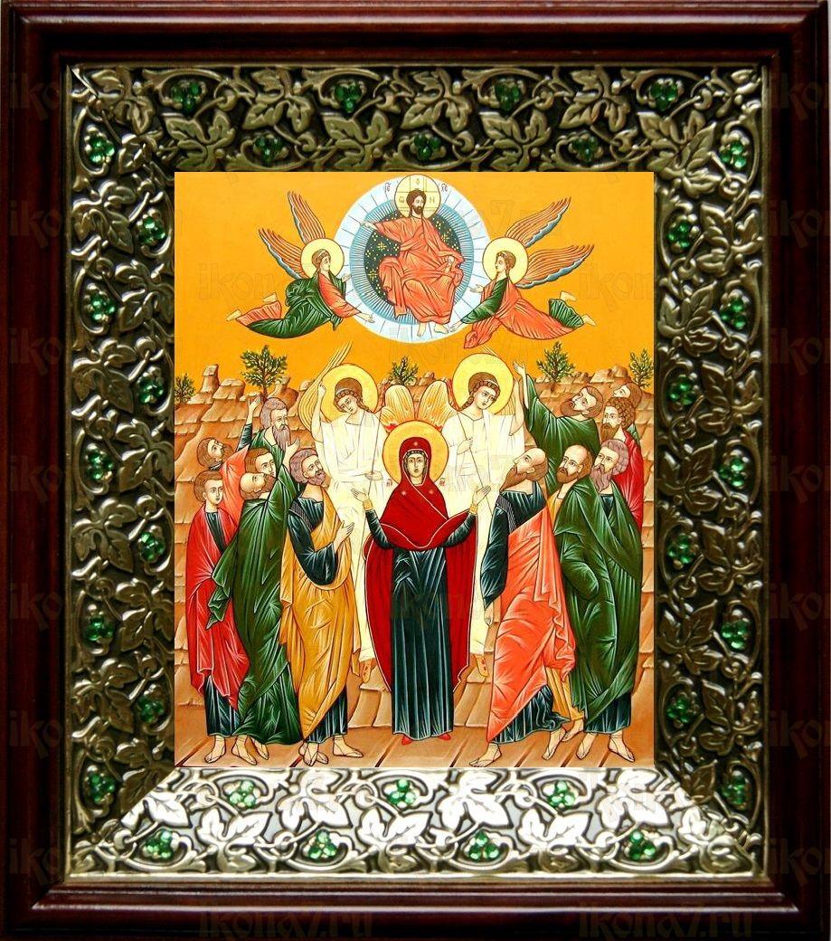 Вознесение Господне (21х24), киот со стразами