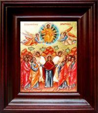 Вознесение Господне (21х24), простой киот