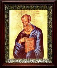Иоанн Богослов (19х22), темный киот
