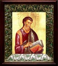 Матфей, апостол (21х24), киот со стразами