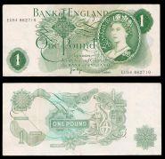 Англия 1 фунт 1970