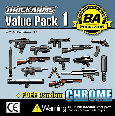 BrickArms Value Pack 1