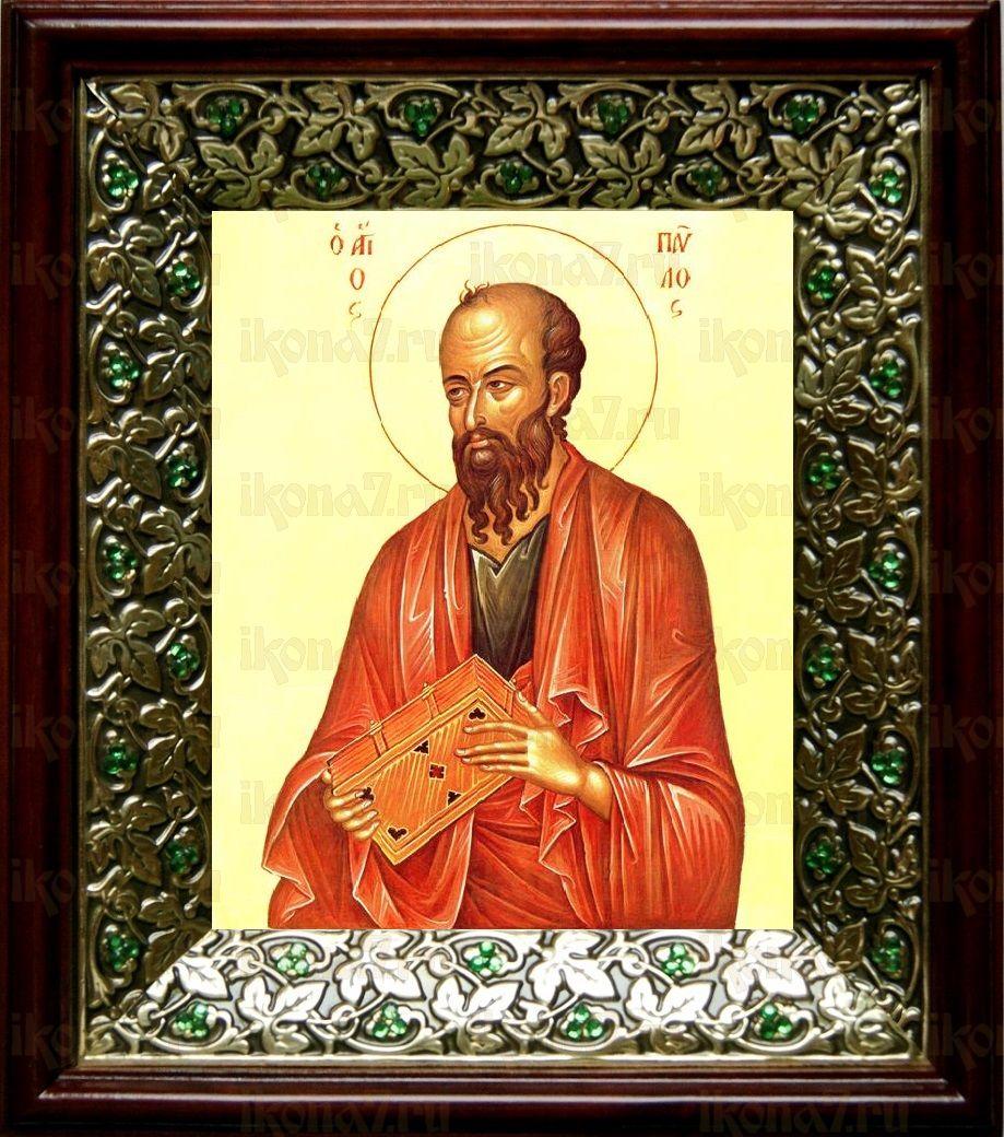 Павел, апостол (21х24), киот со стразами
